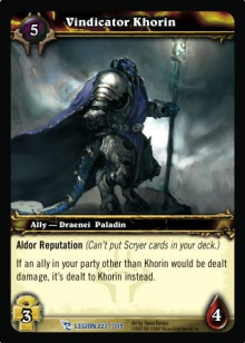 Vindicator Khorin TCG Card.jpg