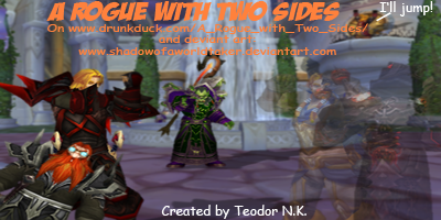 A Rogue with Two Sides (webcomic) small banner.png