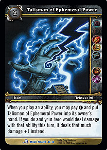 Talisman of Ephemeral Power TCG Card.jpg