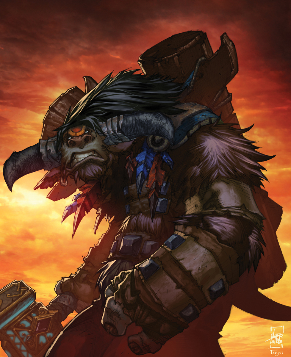 Bloodhoof Tribe Wowpedia Your Wiki Guide To The World Of Warcraft