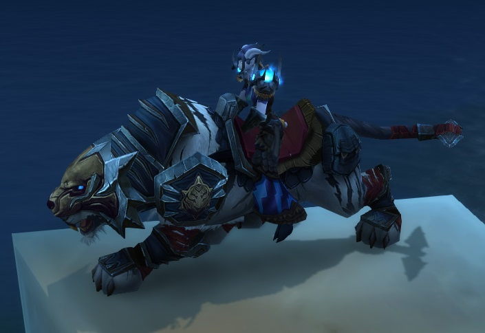 Reins Of The Blue Shado Pan Riding Tiger Wowpedia Your