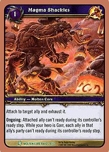 Magma Shackles TCG card.jpg