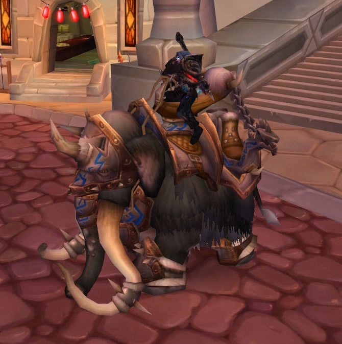 Reins of the Grand Black War Mammoth (Alliance) | WoWWiki ...