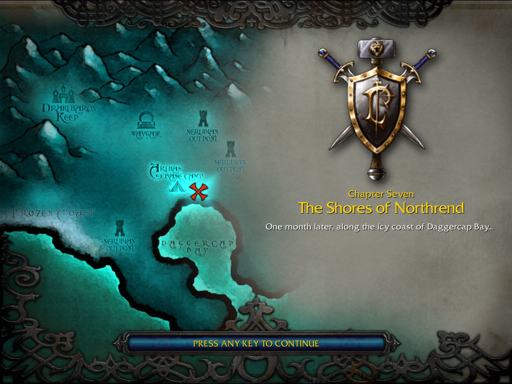 The Shores Of Northrend Wc3 Human Wowpedia Your Wiki Guide