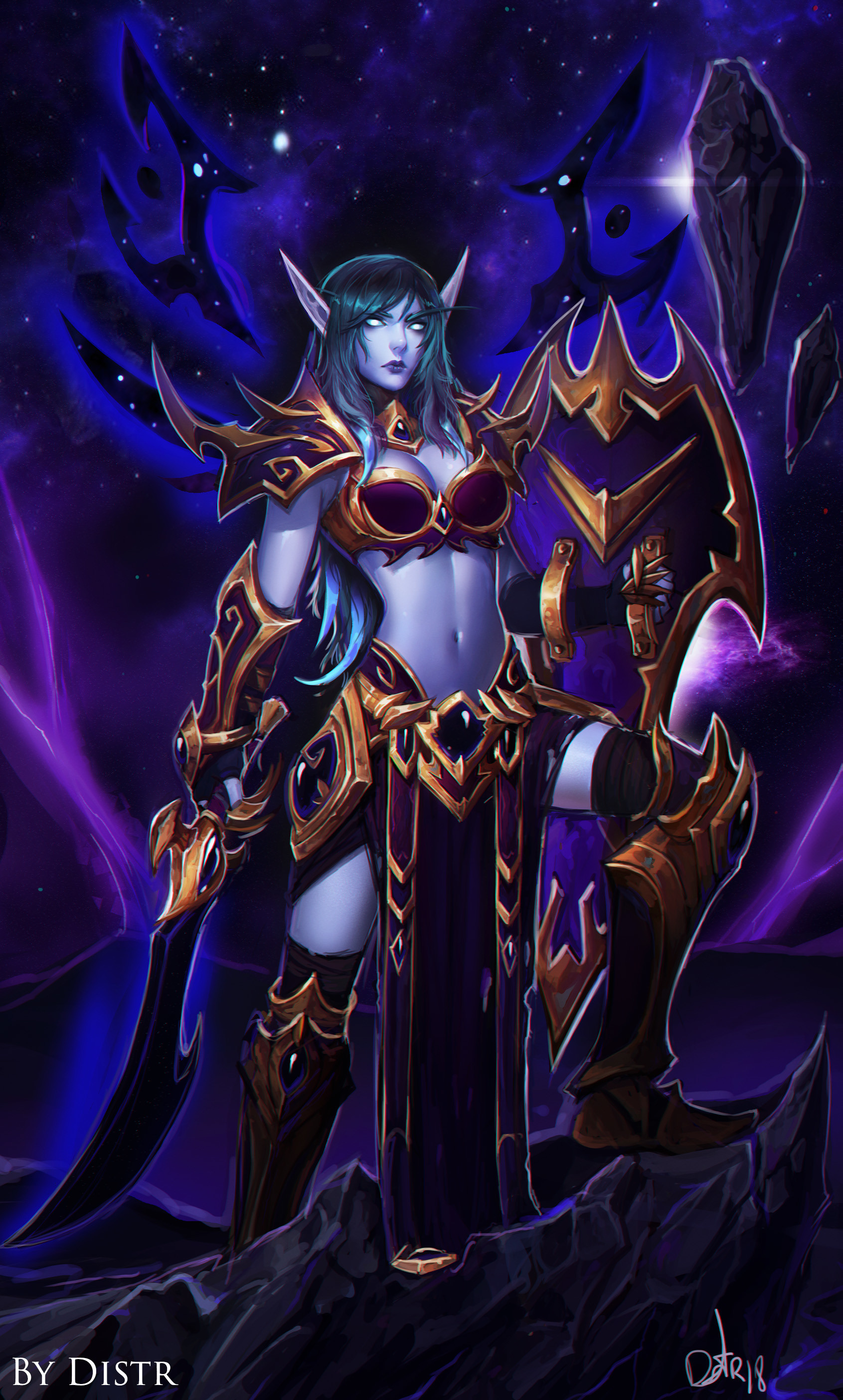 Void Elf Spellbreaker General Discussion World Of Warcraft Forums Lets get the void elf heritage armor and take a look at it on my warlock. void elf spellbreaker general