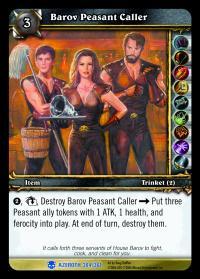 Barov Peasant Caller TCG card.jpg