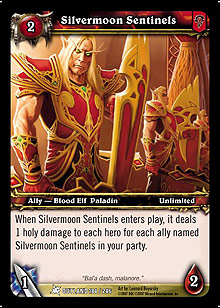 Silvermoon Sentinels TCG Card.jpg