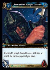 Steelsmith Joseph Carroll TCG card.jpg