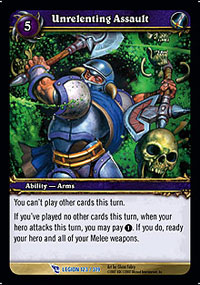 Unrelenting Assault TCG Card.jpg