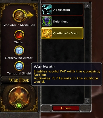 War Mode - Wowpedia - Your wiki guide to the World of Warcraft