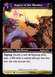 Aspect of the Monkey TCG Card.jpg