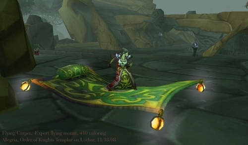 Flying Carpet Wowpedia Your Wiki Guide To The World Of