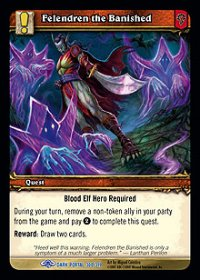 Felendren the Banished TCG Card.jpg