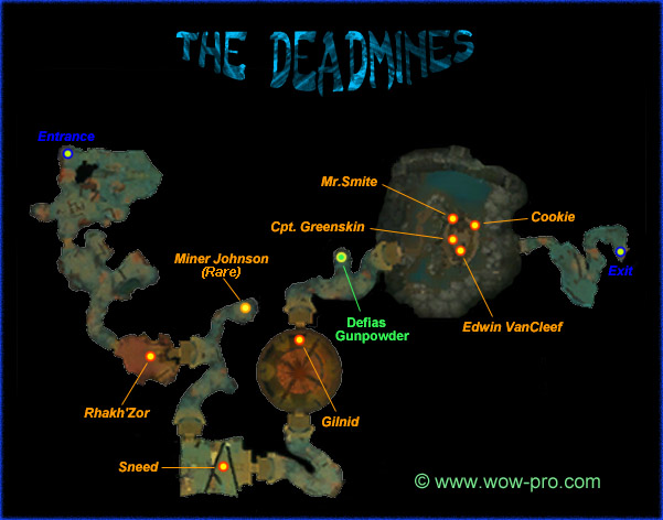 The Deadmines inside the instance.