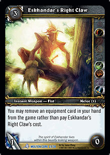 Eskhandar's Right Claw Tooth TCG Card.jpg