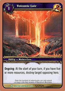 Volcanic Lair TCG card.jpg
