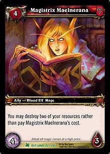 Magistrix Maelnerana TCG Card.jpg