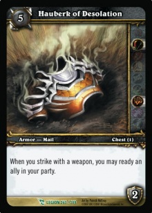 Hauberk of Desolation TCG Card.jpg