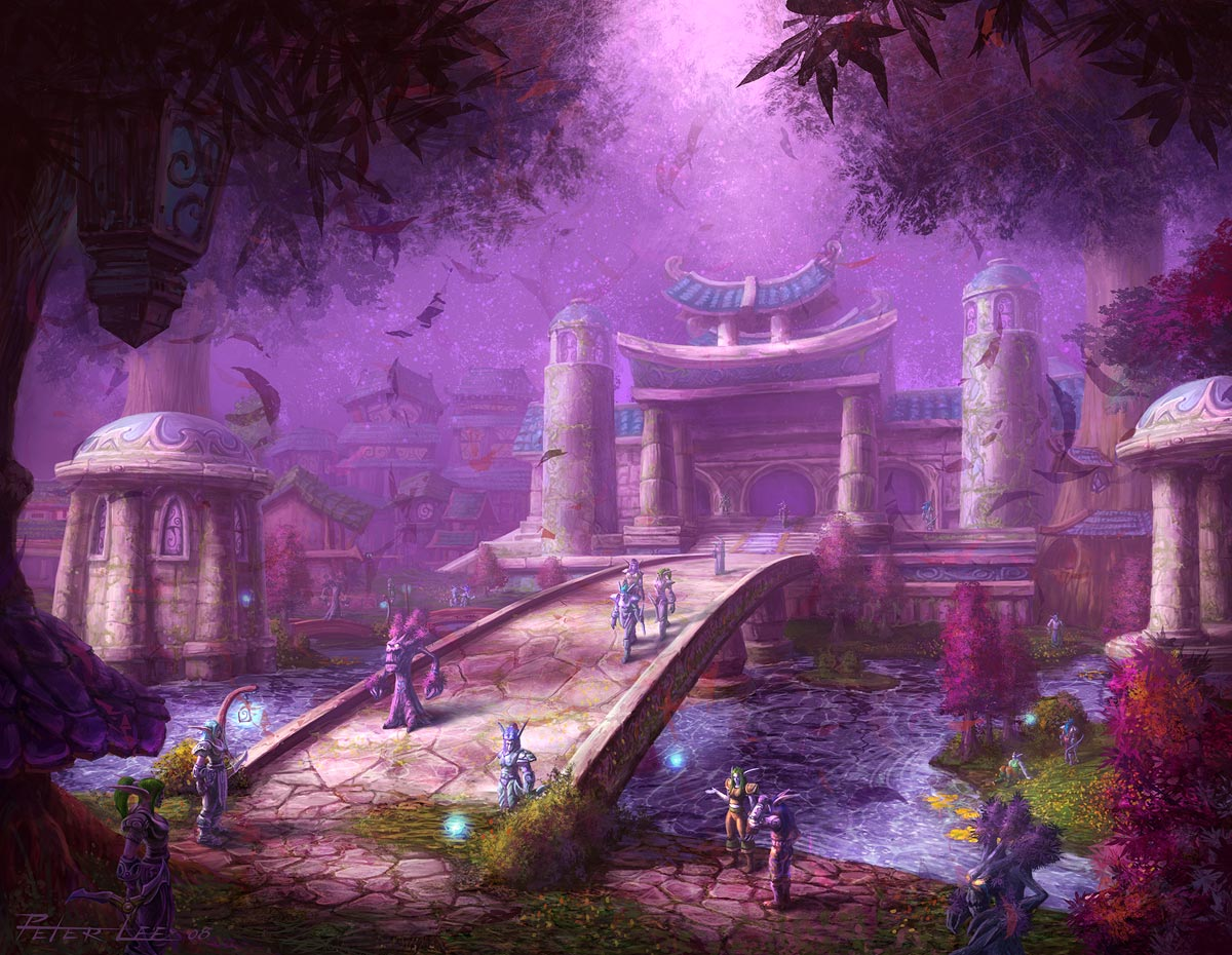 Darnassus TCG - Warcraft's cities and their real world equivalents
