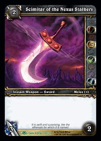 Scimitar of the Nexus Stalkers TCG Card.JPG
