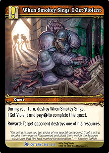 When Smokey Sings, I Get Violent TCG Card.jpg
