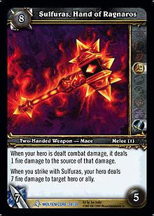 Sulfuras Hand of Ragnaros TCG Card.jpg