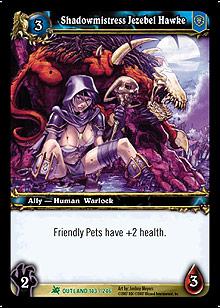 Shadowmistress Jezebel Hawke TCG Card.jpg