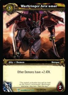 Warbringer ArixAmal TCG Card.jpg
