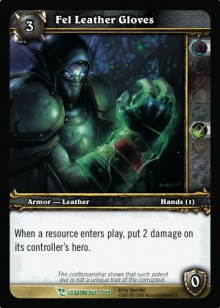 Fel Leather Gloves TCG Card.jpg
