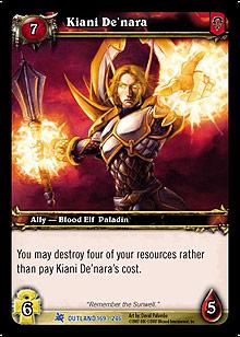 Kiani De'nara TCG Card.jpg