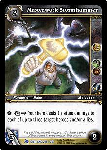 Masterwork Stormhammer TCG Card.jpg