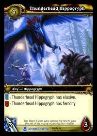 Thunderhead Hippogryph TCG Card rare.jpg