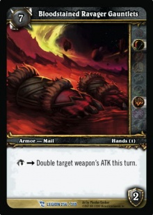Bloodstained Ravager Gauntlets TCG card.jpg