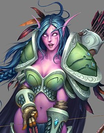 Are world of warcraft night elves you uneasy