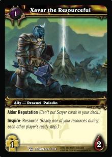 Xavar the Resourceful TCG Card.jpg