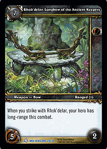 Rhok'delar, Longbow of the Ancient Keepers TCG Card.jpg