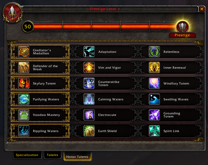 Honor system (Legion) - Wowpedia - Your wiki guide to the