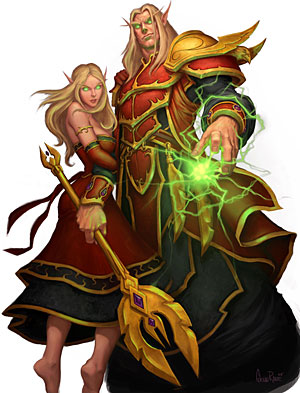 The Warcraft Encyclopedia/Blood Elves - Wowpedia - Your wiki
