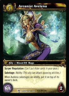 Arcanist Avelena TCG Card.jpg