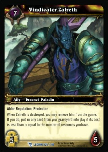 Vindicator Zalreth TCG Card.jpg
