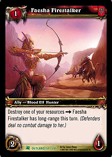 Faesha Firestalker TCG Card.jpg