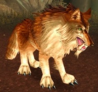 Image of Thunderlord Dire Wolf