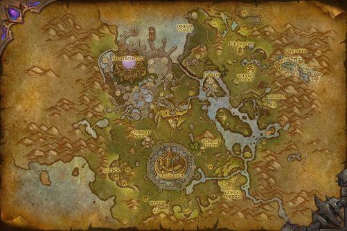 Talador map