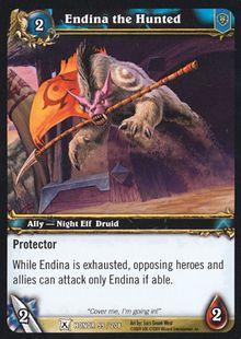 Endina the Hunted TCG Card.jpg