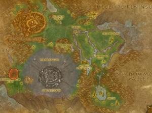 Bleeding Hollow Ruins Digsite map.jpg