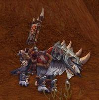 Image of Riderless Battle Worg