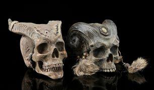 Draenei skulls Warcraft film props 2.jpg
