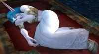 Image of Injured Night Elf Priestess