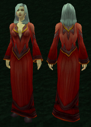 Red Linen Robe Wowpedia Your Wiki Guide To The World Of Warcraft