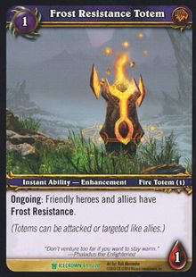 Frost Resistance Totem TCG Card.jpg